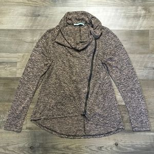 Maurices Womens Sz XL Cardigan Sweater Pink